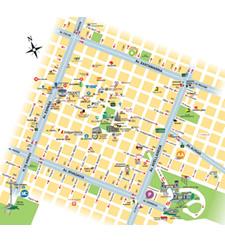 Plano turístico de Tandil